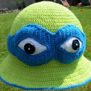 Opskrift på Ninja Turtle Bøllehat
