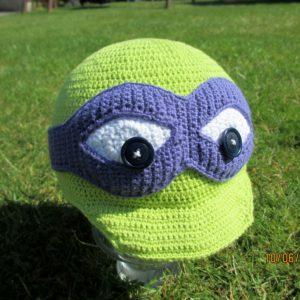 Opskrift på Ninja Turtle kasket