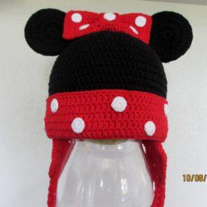 Opskrift på Mickey og Minnie hue