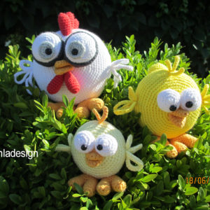 Opskrift på Høne med kyllinger