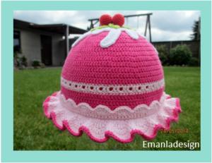 Cupcakehat – 50 cm