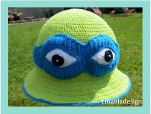 Ninja Turtle Bøllehat