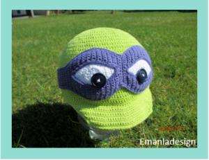 Ninja Turtle kasket