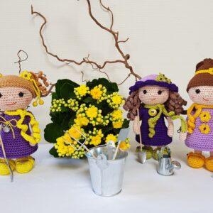 Bedårende Blomsterbørn