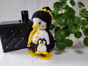 Opskrift på hæklet Pingvin